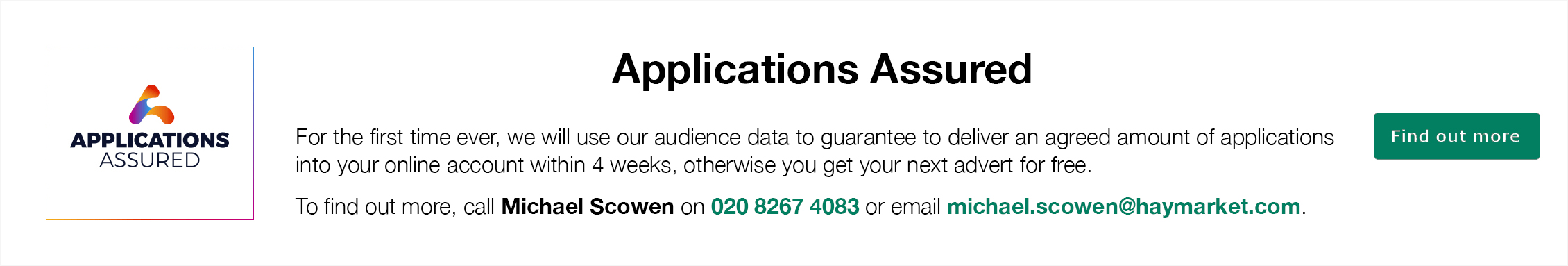 Applications Assured Banner